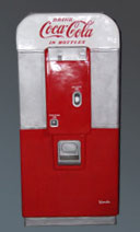 DecoFreak.nl decoratie beelden | Cola Machine