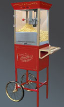 DecoFreak.nl decoratie beelden | Popcorn Cart